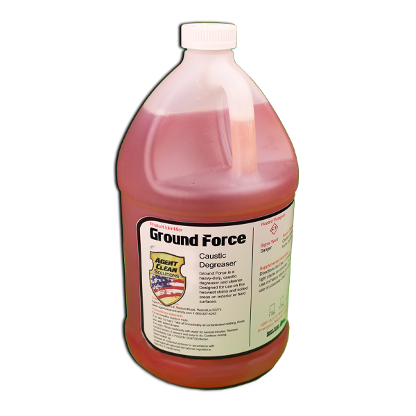 Caustic degreaser